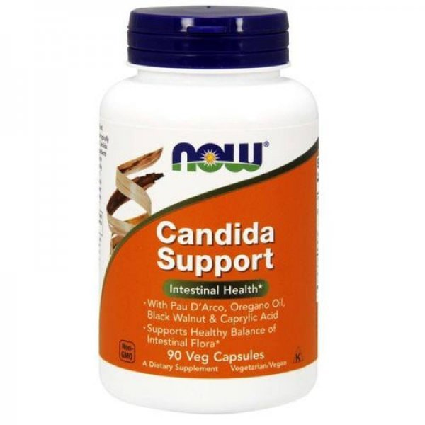 NOW Candida Support 90 капсулиNOW3308
