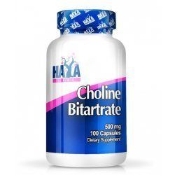 Haya Choline Bitartrate 500 мг 100 капсули