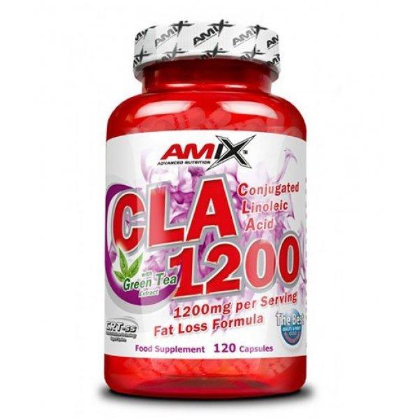AMIX CLA 1200 + Green Tea 120 капсули AM167