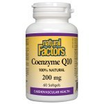 Natural Factors Coenzyme Q10 200 мг 60 дражета207221
