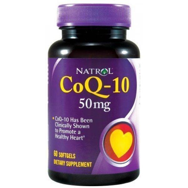 Natrol CoQ-10 50 мг 60 дражетаNAT370