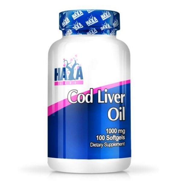 Haya Cod Liver Oil 1000 мг 100 дражетаHaya Cod Liver Oil 100 дражета