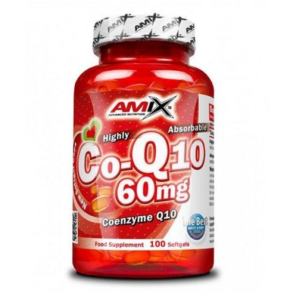 AMIX Coenzyme Q10 60 мг 100 дражетаAM168