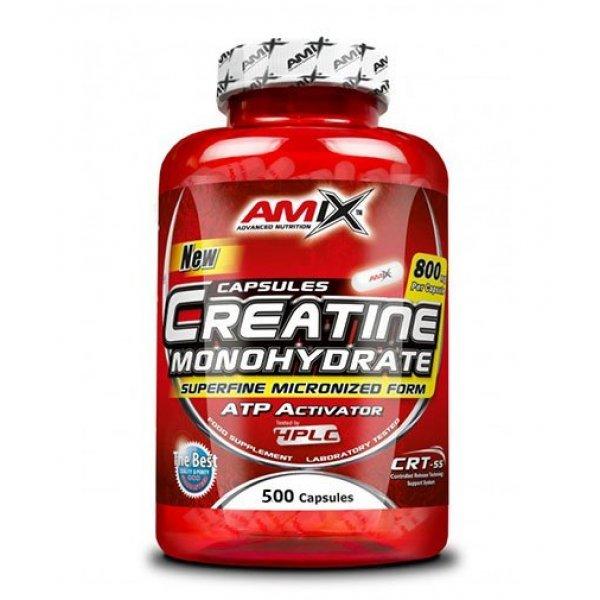 AMIX Creatine Monohydrate 800 мг 500 капсули  AM174
