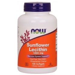NOW Sunflower Lecithin 100 дражета