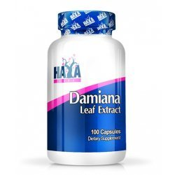 HAYA LABS Damiana Leaf Extract / 100 капсули