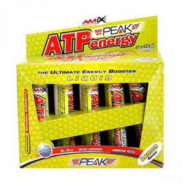 AMIX ATP Energy Liquid BOX 10x25 млAM110