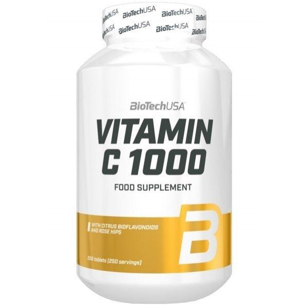 BIOTECH USA Vitamin C 1000 мг 250 таблеткиBT0051