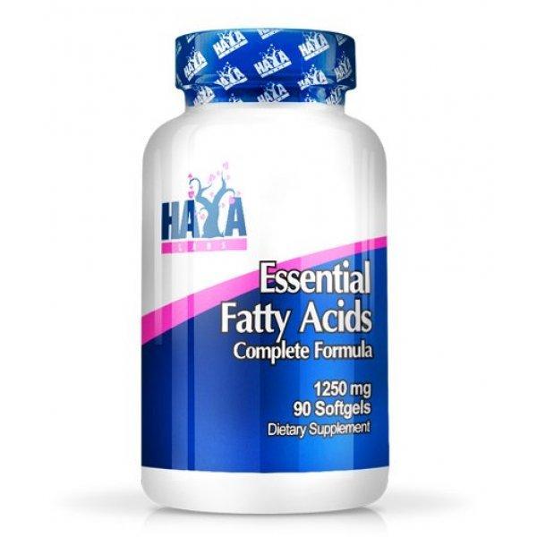 Haya Essential Fatty Acids 1250 мг 90 гел капсулиHaya Essential Fatty Acids 1250 мг 90 гел капсули