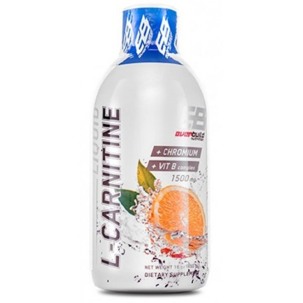 EVERBUILD Liquid L-Carnitine + Chromium 1500 мг 450 млEB636