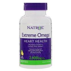 Natrol Extreme Omega 1200 мг 60 дражета