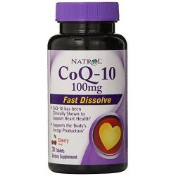 Natrol CoQ10 100 mg Fast Disolve 30 таблетки