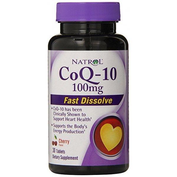 Natrol CoQ10 100 mg Fast Disolve 30 таблеткиNAT372