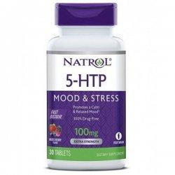 Natrol 5-HTP Fast Dissolve 100 mg 30 таблетки