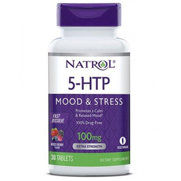 Natrol 5-HTP Fast Dissolve 100 mg 30 таблеткиNAT339