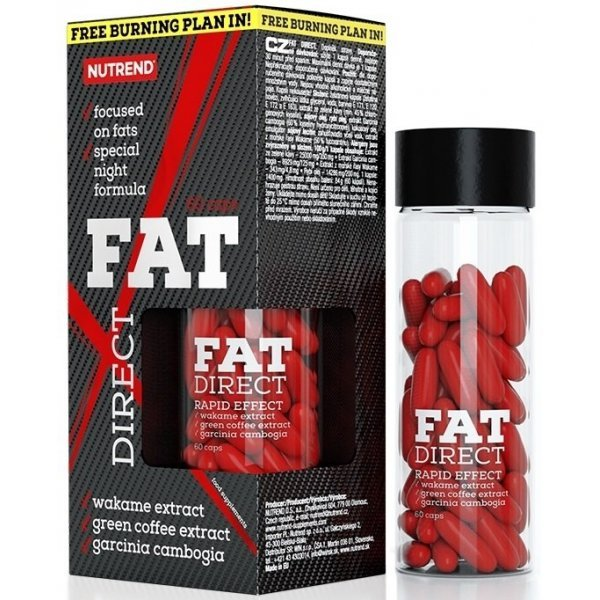 Nutrend Fat Direct 60 капсулиNutrend Fat Direct 60 капсули