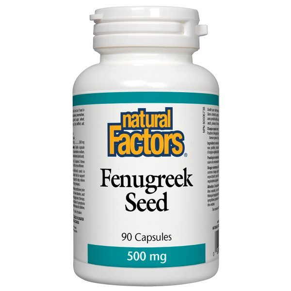 Natural Factors Fenugreek Seed 500 мг 90 капсули2200