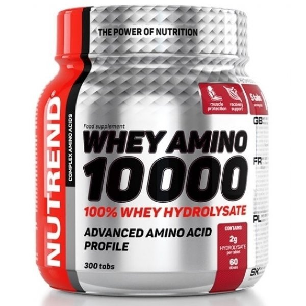 Nutrend COMPRESS WHEY AMINO 10 000 300 таблеткиNutrend COMPRESS WHEY AMINO 10 000 300 таблетки