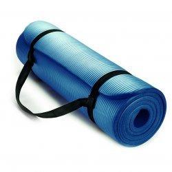 Постелка за йога и упражнения NBR Eco-Friendly Armageddon Sports, 183 x 61 x 1 см, Син