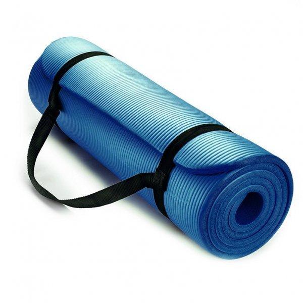 Постелка за йога и упражнения NBR Eco-Friendly Armageddon Sports, 183 x 61 x 1 см, СинARM050-BLUE
