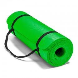 Постелка за йога и упражнения NBR Eco-Friendly Armageddon Sports, 183 x 61 x 1 см, Зелен