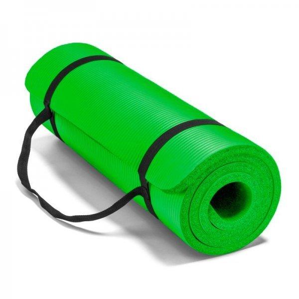 Постелка за йога и упражнения NBR Eco-Friendly Armageddon Sports, 183 x 61 x 1 см, ЗеленARM050-GREEN