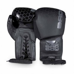 Боксови ръкавици Естествена кожа LEGACY/black Bad Boy