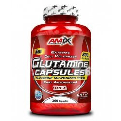 AMIX L-Glutamine 800 мг 360 капсули