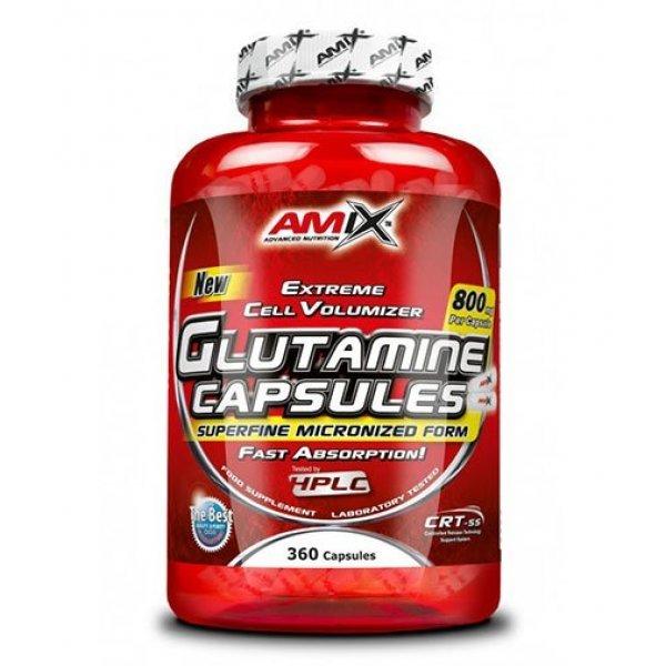 AMIX L-Glutamine 800 мг 360 капсулиAM210