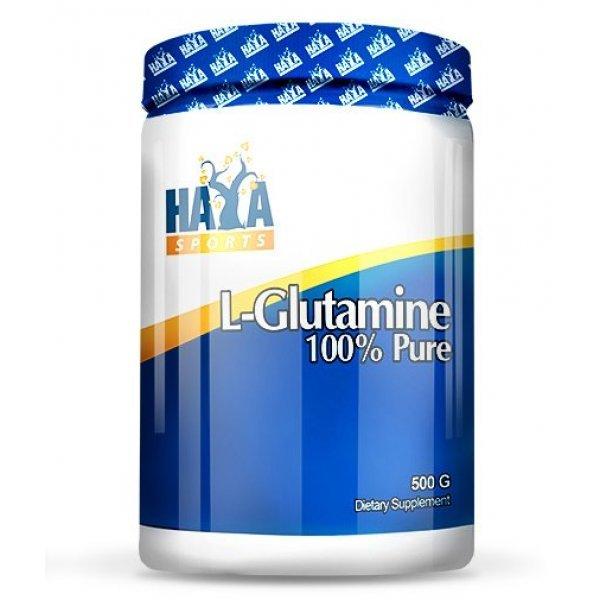 HAYA LABS Sports 100% Pure L-Glutamine 500 грHL918