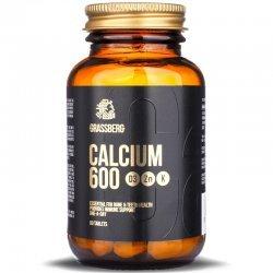 Grassberg Calcium 600 + D3 + Zn + K 60 таблетки