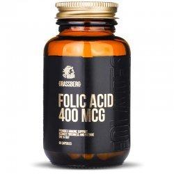 Grassberg Folic Acid 400 мкг 60 капсули