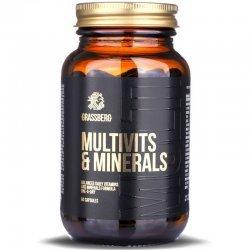 Grassberg Multivits & Minerals 90 капсули