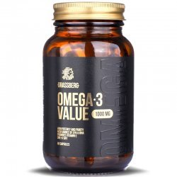 Grassberg Omega-3 Value 1000 мг 60 дражета