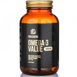 Grassberg Omega-3 Value 1000 мг 90 дражета