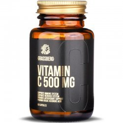 Grassberg Vitamin C 500 мг 60 капсули