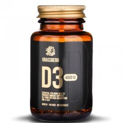 Grassberg Vitamin D3 4000iu 90 дражета