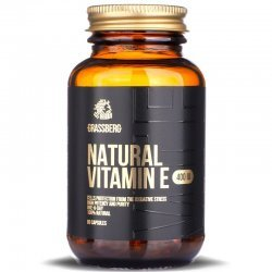 Grassberg Vitamin E 400IU Natural 60 дражета