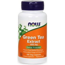 NOW Green Tea Extract 100 капсули