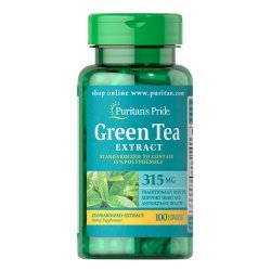 Puritan's Pride Green Tea Extract 315 мг 100 капсули