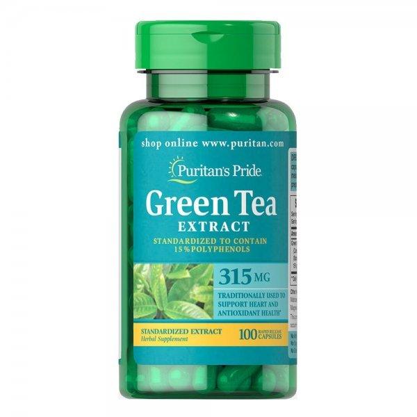 Puritan's Pride Green Tea Extract 315 мг 100 капсулиPP1099