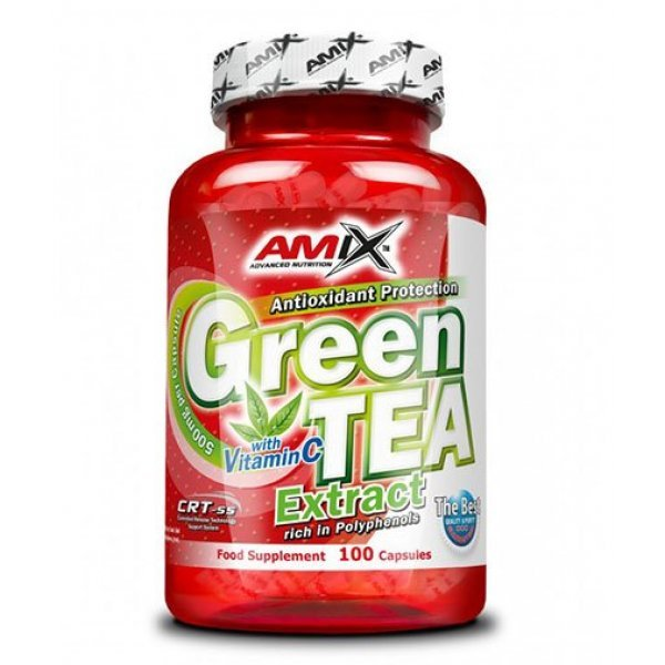 AMIX Green Tea Extract /with Vitamin C/ 100 капсули АМ189