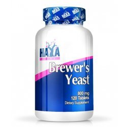 HAYA LABS Brewer's Yeast 800mg / 120 таблетки