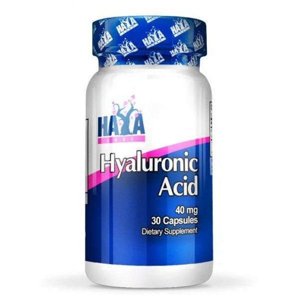 Haya Hyaluronic Acid 40 мг 30 капсулиHaya Hyaluronic Acid 40 мг 30 капсули