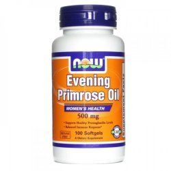 NOW Evening Primrose Oil 500 мг 100 дражета
