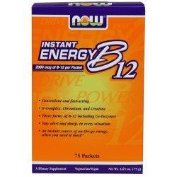 NOW Витамин B 12 Instant Energy 75 пакета