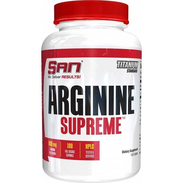 SAN Arginine Supreme 100 таблеткиSAN Arginine Supreme 100 таблетки