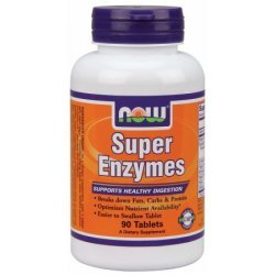 NOW Super Enzymes 90 таблетки