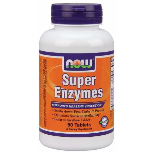 NOW Super Enzymes 90 таблеткиNOW2960