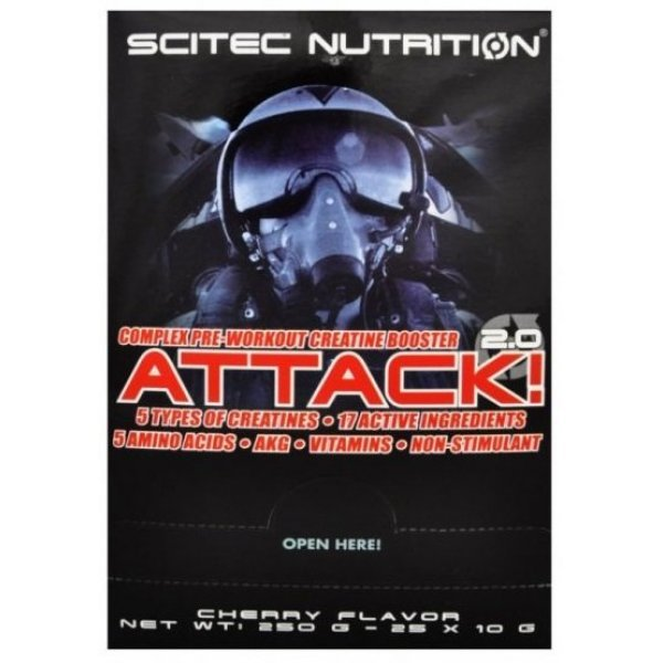 Scitec Attack 25 пакетчетаAttack 20 пакетчета